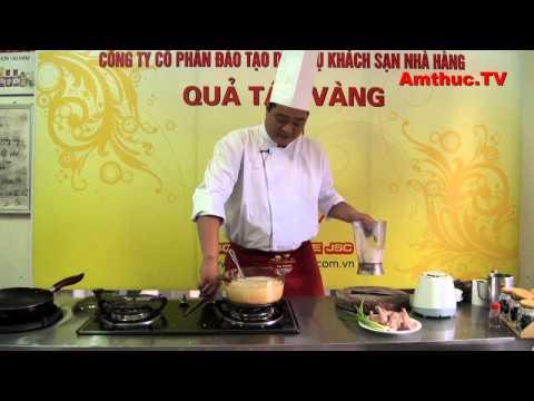 Cháo chim bồ câu (Vào bếp cùng Sao - số 45) - tapchiamthuc.vn - amthuc.tv