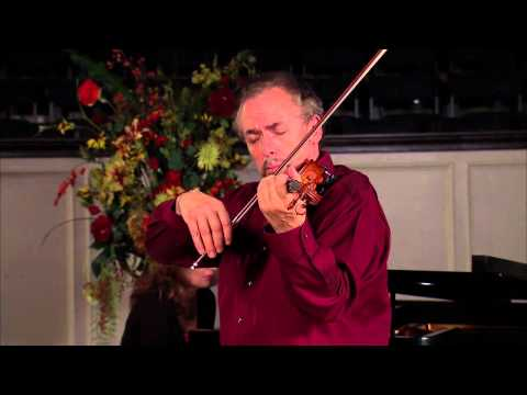 Emanuel Borok performs Cantible in D Major by Paganini, connellmedia