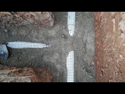 Hydroluis Drainage Pipe System / Hidroluis Drenaj Boru Sistemi Uygulaması 1