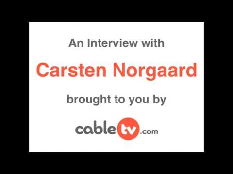 Carsten Norgaard interview with CableTV