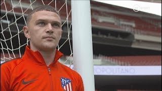 Kieran Trippier on Simeone, learning Spanish, and Atletico