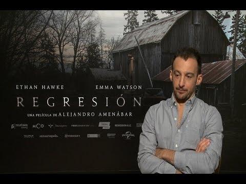 Entrevista con Alejandro Amenábar por el estreno de 'Regresión'
