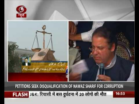 Pakistan SC issues notice to Nawaz Sharif over Panama papers leak case