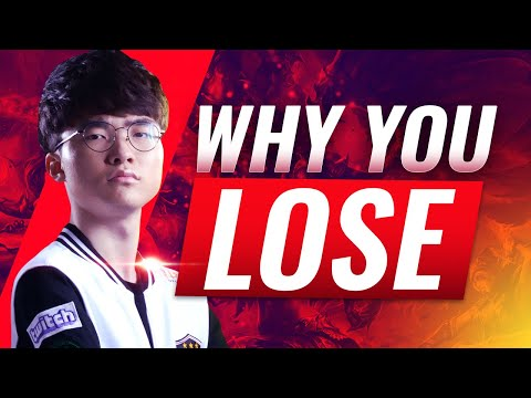 Faker's #1 Reason why you LOSE Games - Season 9 League of Legends Tips