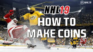 NHL 19 HUT - HOW TO MAKE COINS FAST