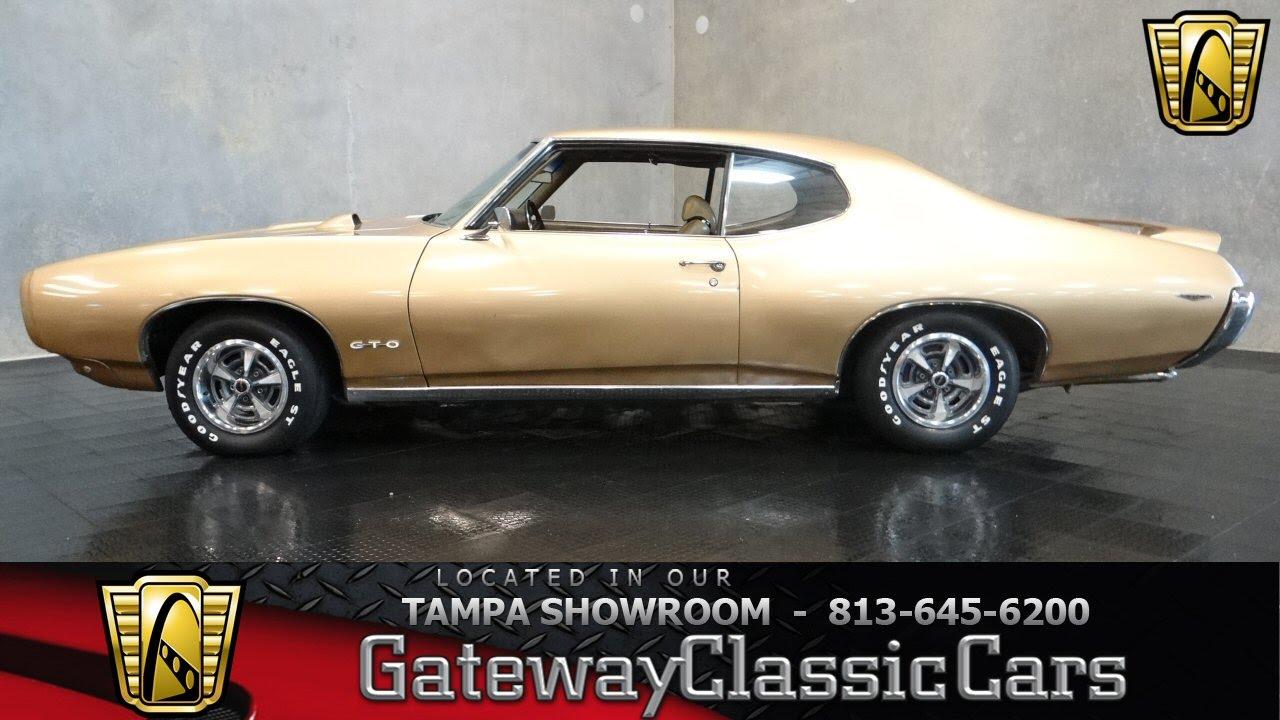 1969 Pontiac GTO by GatewayClassicCars