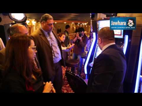 The Tunisian Minister of Tourism Amel Karboul visits Casino Europe.