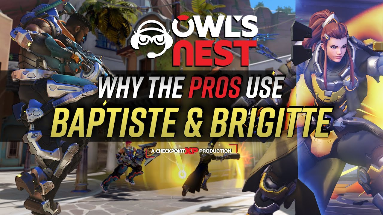 Why The Pros Use Baptiste & Brigitte | Overwatch League