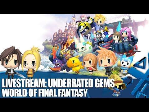 Livestream: Underrated Gems - World of Final Fantasy