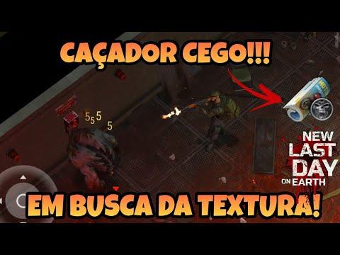 MATEI O CAÇADOR CEGO!!! EM BUSCA DA TEXTURA DA CAVEIRA!!! Last Day On Earth