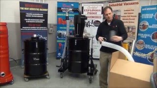 Attic Vac Vermiculite Removal System by Ruwac (Overview & Assembly Instructions)