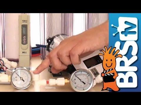 Pressure Gauges, TDS Meters and Flush Kits EP:4  Aquarium RO/DI