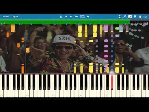 24K Magic  Bruno Mars  FREE MIDI INTRUMENTAL DOWNLOAD  KARAOKE