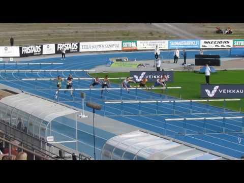 YAG 2017 Lahti M17 110 m aj finaali