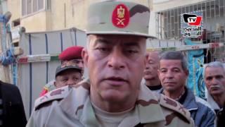 قائد الجيش الثالث يقدم واجب العزاء لأسرة شهيد سيناء: سنكمل لآخر قطرة دم