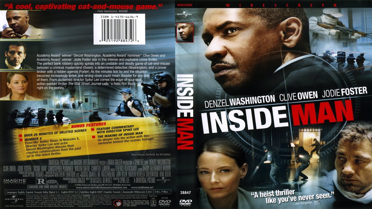 Movie Posters 2006: Inside Man (2006) Official Trailer ᴴᴰ