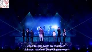 Super Junior  Islands (Sub español + Rom) SS6 In Japan
