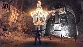 HAUNTED POLISH SALT MINE!