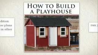 Playhouse: How To Build A Playhouse, Kindle Edition