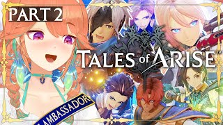 【Tales of Arise】Getting to know Alphen and Shionne! Part 2 (SPOILER ALERT) #kfp #キアライブ