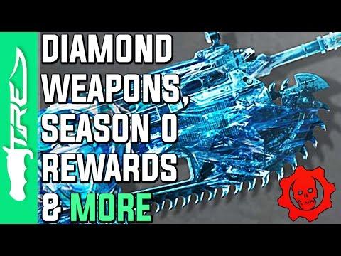 Gears of War 4 - Diamond Weapon Skins, Exclusive Season 0 Rewards, Ranked Leaderboards & MORE!