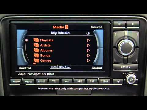 audi a3 tt r8 navigation system plus media and sound. Black Bedroom Furniture Sets. Home Design Ideas