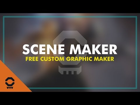 FREE SCENE MAKER - Make Custom Intro, Outro, and BRB Scenes for Twitch, YouTube Gaming, and More!