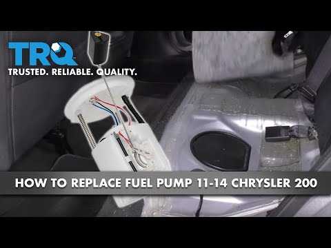 How to Install Fuel Pump 11-14 Chrysler 200