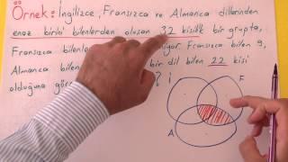Kümeler 4 - Küme Problemleri Şenol Hoca Matematik