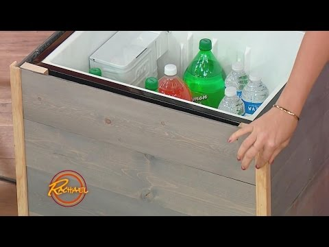 Upcycle Your Old Mini Fridge Into a Stylish Patio Cooler - YouTube