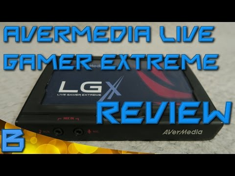 AVerMedia Live Gamer Extreme (GC550) - Review - 1080p 60fps Capture Card