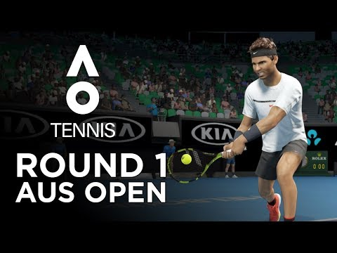 AO TENNIS   PLAYING AS RAFAEL NADAL IN THE AUSTRALIAN OPEN!