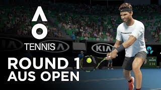 AO TENNIS | PLAYING AS RAFAEL NADAL IN THE AUSTRALIAN OPEN!