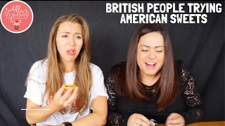 British People Trying American Sweets