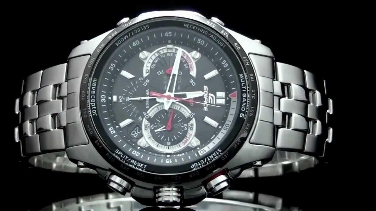 Casio Edifice EQW-M710-1A Solar and Atomic Analog Watch