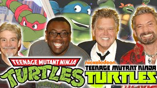 1980's NINJA TURTLES REUNION - TMNT VoiceOver Behind the Scenes EXCLUSIVE