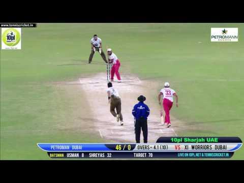 Usman Patel Batting | 10PL Sharjah UAE