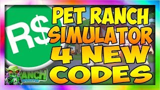 *4* NEW CODES ✨[AURAS] 🐾Pet Ranch Simulator Roblox Pet Ranch Simulator