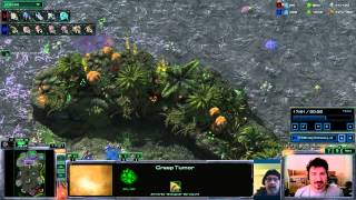 Xwave versus the cannon rush - replay cast with Technoid - Starcraft 2 Ladder