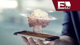 China presume el primer smartphone holográfico, el Takee 1/ Hacker