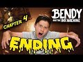 OMG ENDING!!! Bendy and the Ink Machine: CHAPTER 4 (Part 2) HAUNTED MANSION!
