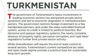 Туркменистан на дне   АЗИЯ