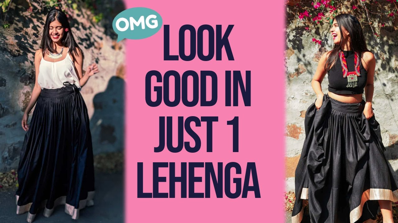 10 Ways to Style 1 Lehenga for a Wedding | Sejal Kumar