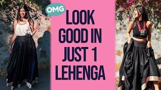 10 Ways to Style 1 Lehenga for a Wedding | Sejal Kumar