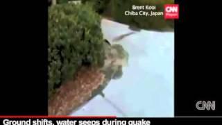 VIDEO NGERI! Gempa Jepun - Bumi Terangkat! Air Membuak!
