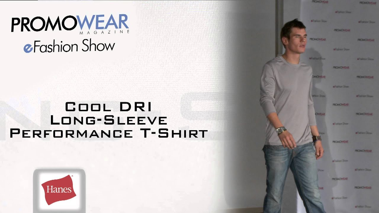62d9166434c4 Cool Dri Long Sleeve Performance T Shirt - YouTube