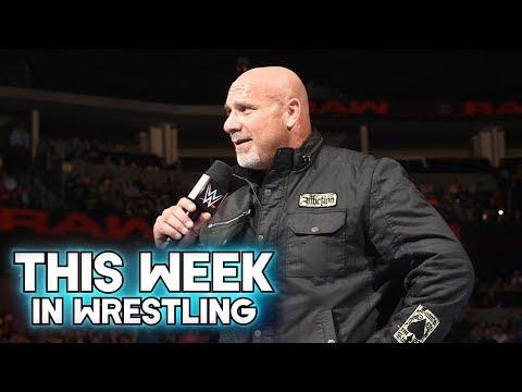 This Week In Wrestling: Goldberg Returns On WWE RAW (October 15th)