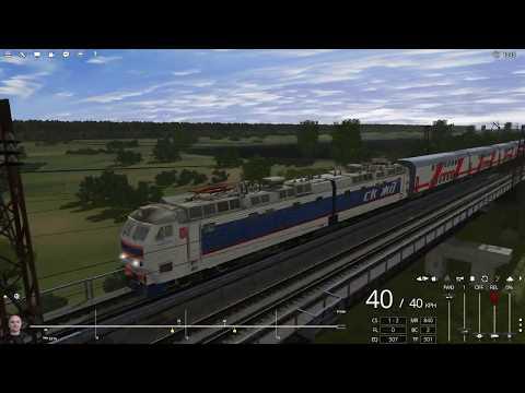 Trainz 2019, Маршрут - Ростовский узел, от Батайска до Ростова-на-Дону