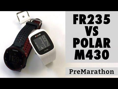 e8d31e258 Comparativa Garmin Forerunner 235 vs Polar M430 - YouTube