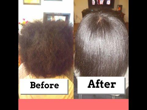 ETAE Hair Products on 4c Hair Silk Press